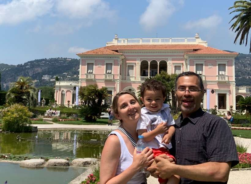 Ali, Marianne and their son Roman