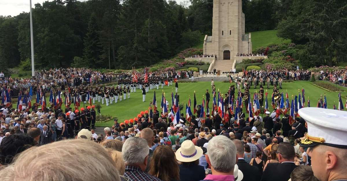 Memorial Celebrations at Belleau Wood: Chateau-Thierry and the Battle of Belleau Wood Episode