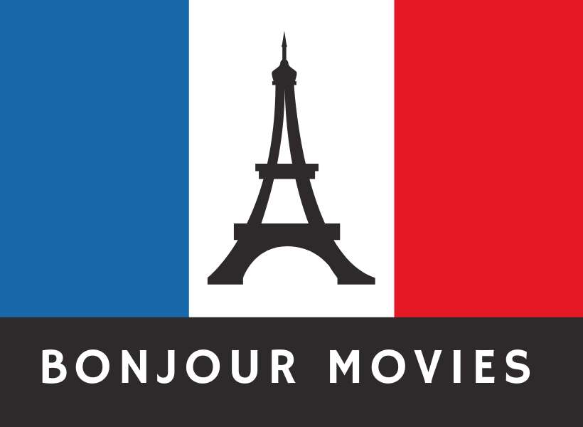French flag with Eiffel Tower in the center: French movies episode