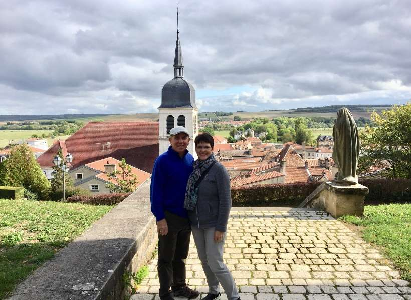 Kim Loftus and her husband: Searching for Joan of Arc in rural France episode