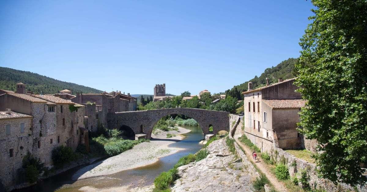 Famous bridge of Lagrasse: Lagrasse and Villerouge-Termenès Episode