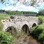 Le Chambon sur Lignon stone bridge and river