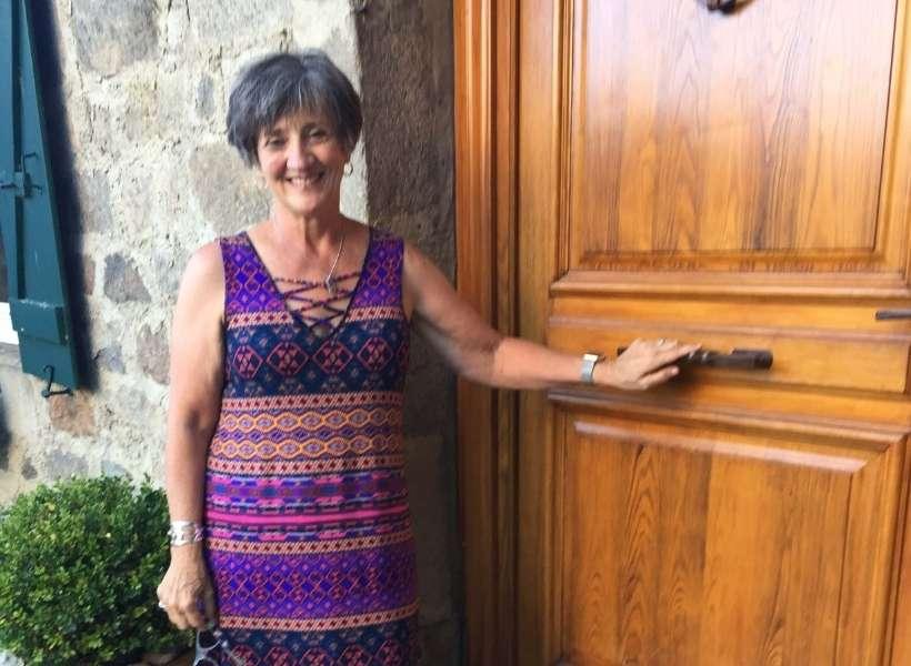 Cindy McBrayer in Le Chambon sur Lignon