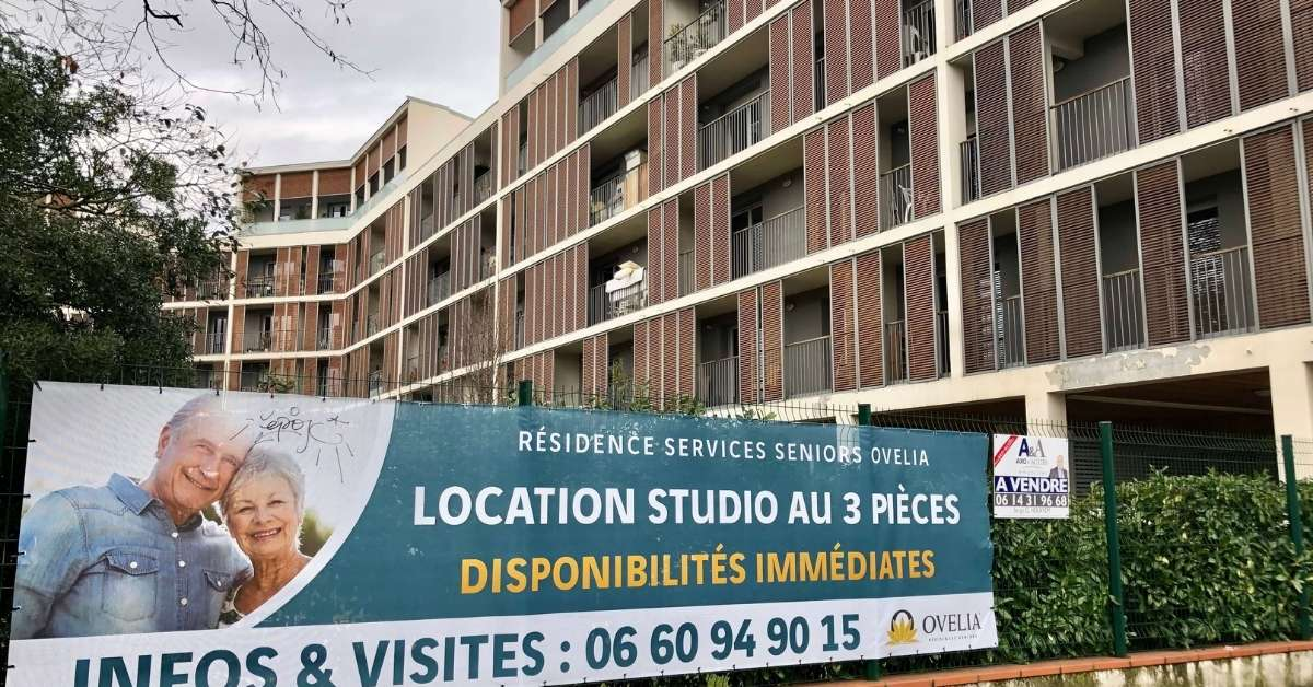 Senior's residence in Toulouse: growing old in France episode