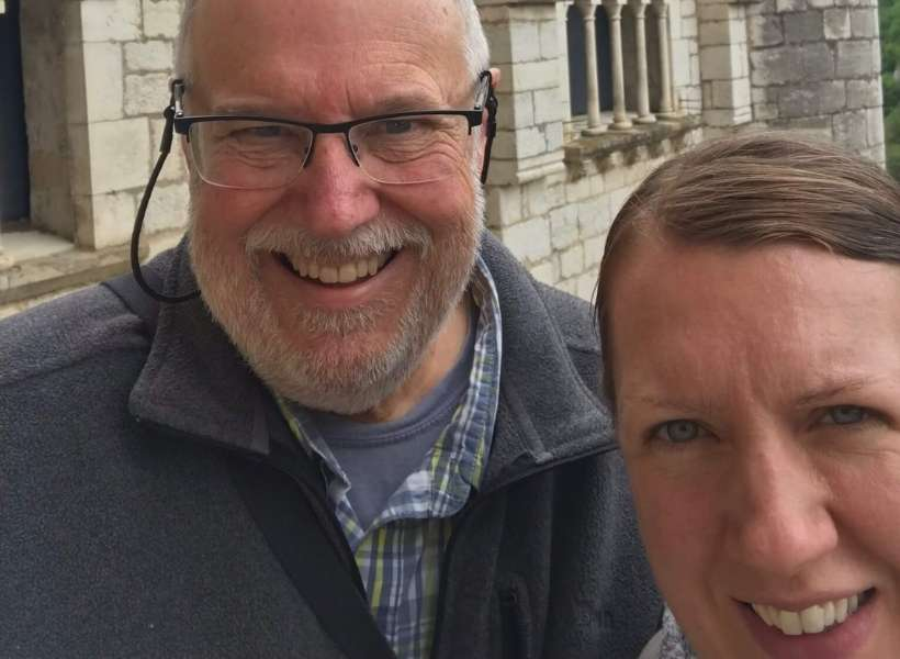Wendy and her husband: House Hunting in France episode