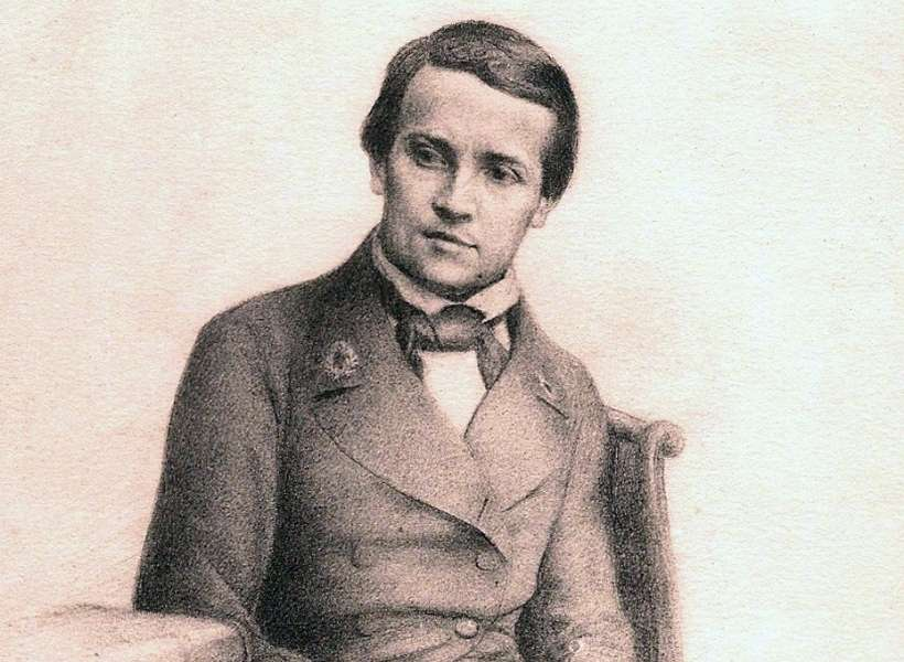 Louis Pasteur as a young man