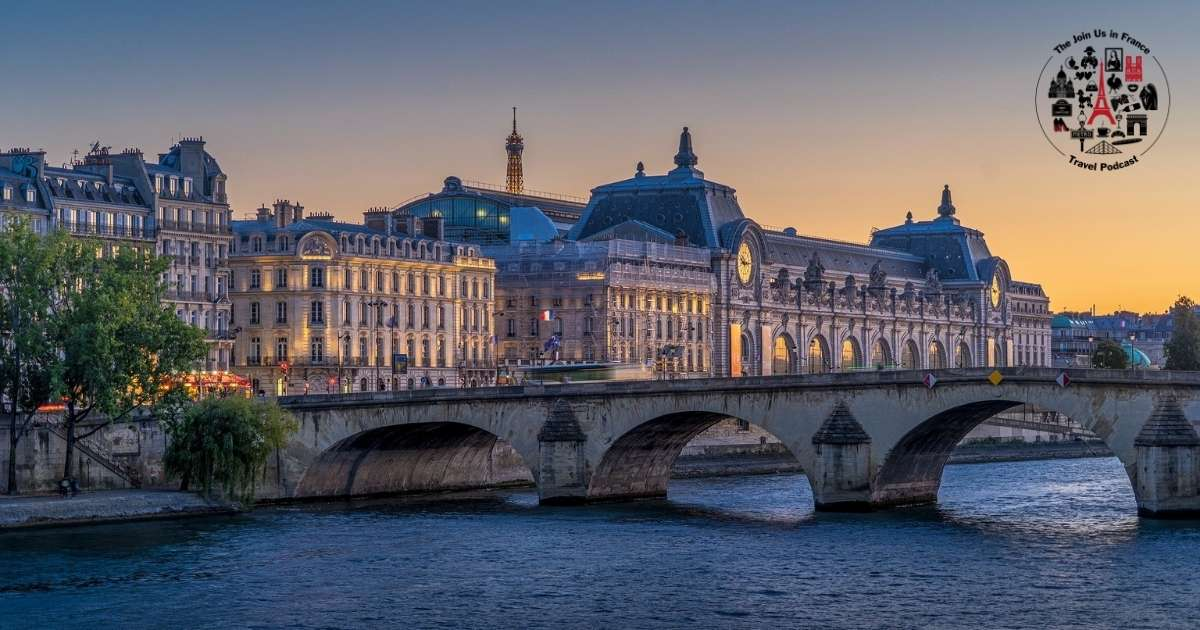 Orsay Museum in Paris: the About Page of the Join Us in France Travel Podcast