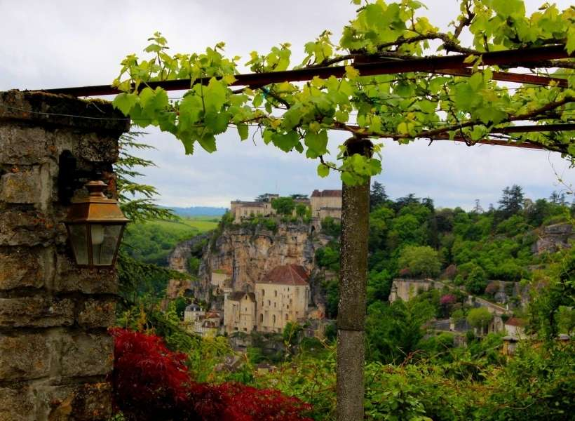Rocamadour the medieval village that hangs on a cliff