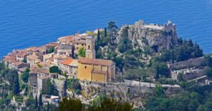 The Bay of Eze in Provence