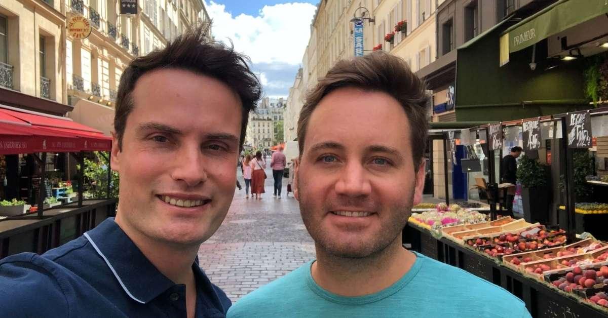 Scott and Grant back in Paris at last