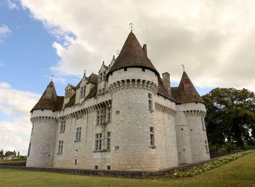 The Château of Monbazillar near Bergerac