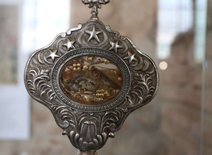 This is the relic pilgrims came to worship in Moissac