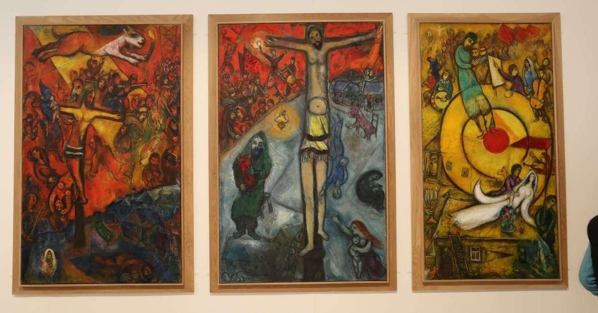 Résistance Résurrection Libération by Marc Chagall: Famous Painters in Nice episode